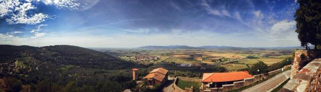 View from Montepescali