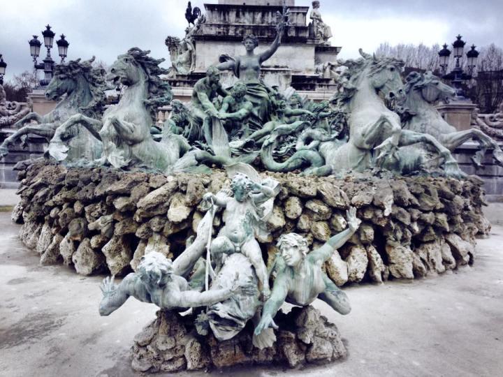 moss statue