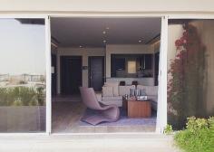 2 bed villa pool entrance