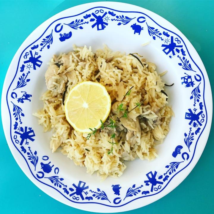 Lemon Herb ChickenRice