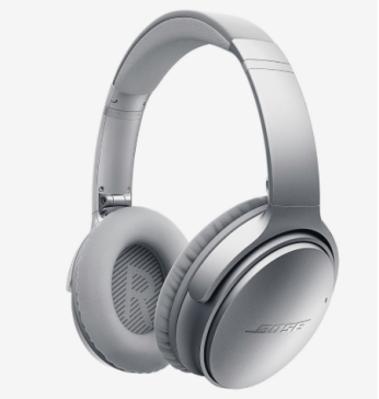 Bose QuietComfort 35 Silver Wireless Headphones
