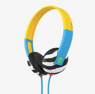 Skullcandy Uproar W/Tap Techlocals Only/Blue/Green Headphones