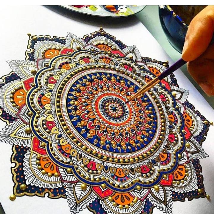 Workshop 6: Mandala Art